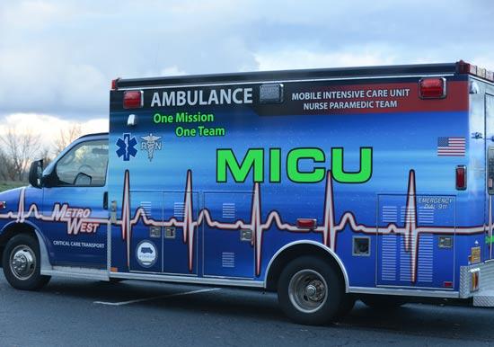 transport services metro west ambulance